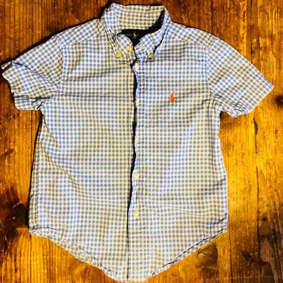 31d1da3f1c4176 Ralph Lauren Boys' Button Front Dress Shirt. M_5cdc171926219fe2e318fd0f